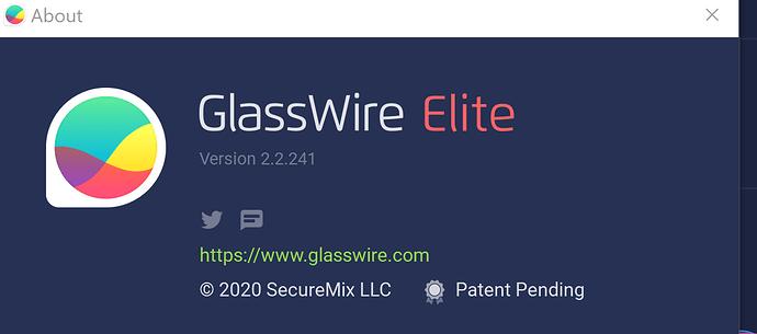 Glasswire Version