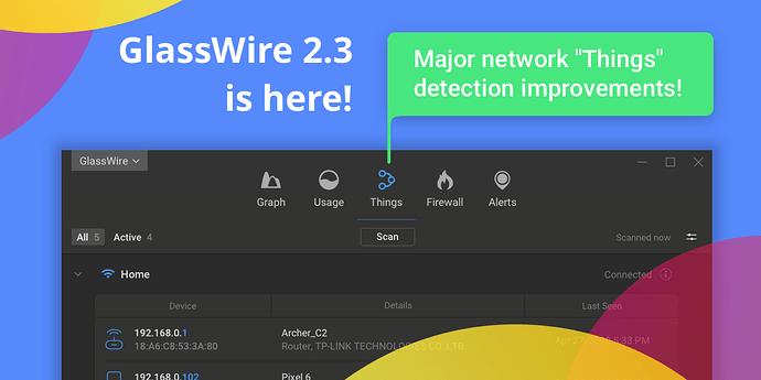 GlassWire_IOT_Detection
