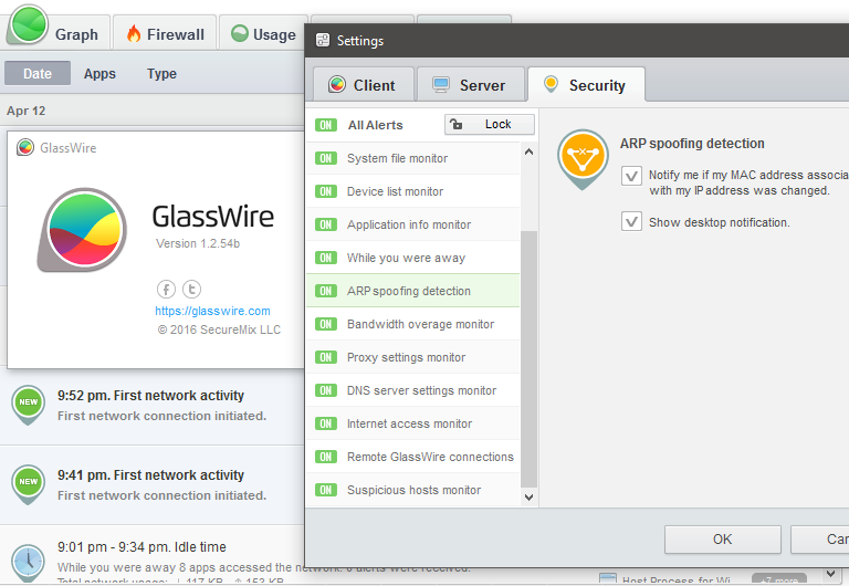 How To Defend My Pc From Netcut Arpspoofing Glasswire Help Glasswire Internet Security Forum