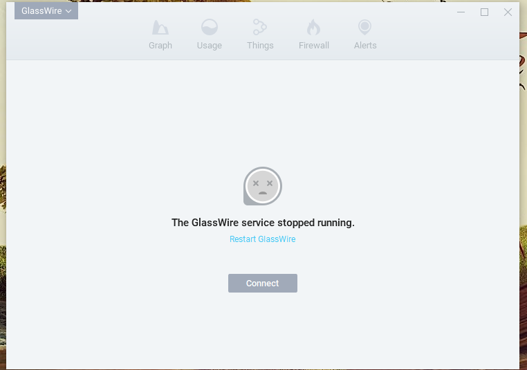Glasswire can't connect to local server help - GlassWire