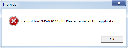 get msvcp140.dll file